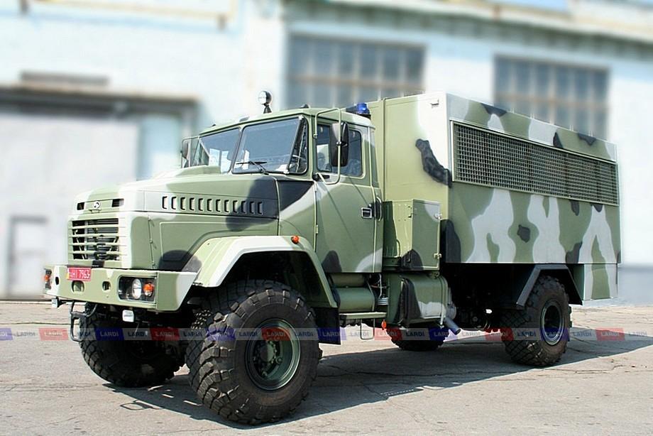 """Военный """"брат"""" гражданского КрАЗ-5133 ВЕ 4х4 - КрАЗ-5233 ВЕ «Спецназ»"""